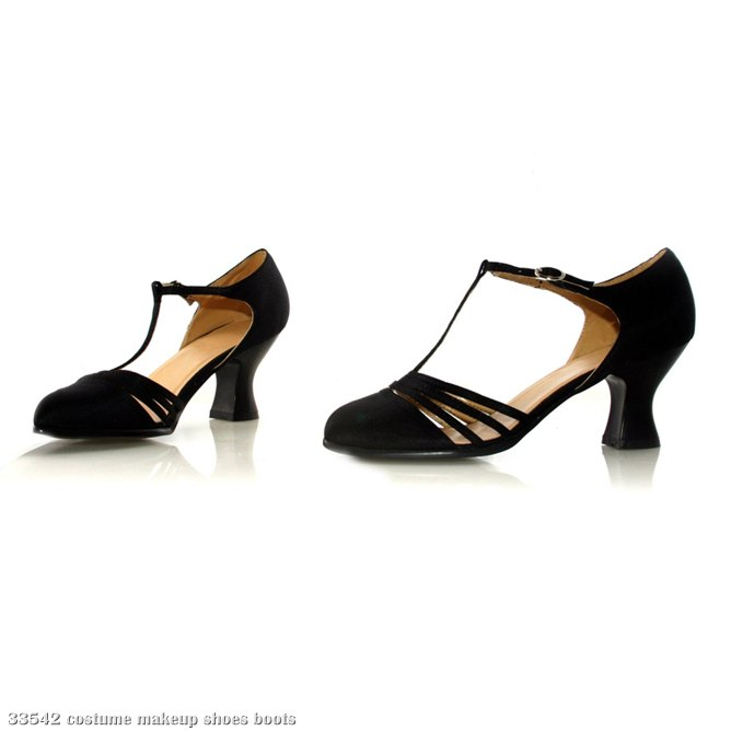 Lucille (Black) Adult Shoes
