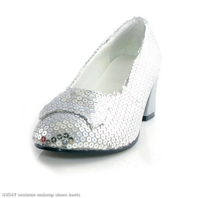 Judy Sequin (Silver) Adult Shoes