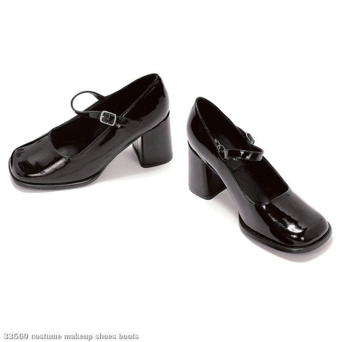 Eden (Black) Adult Shoes