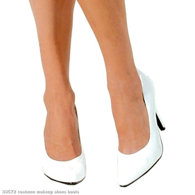 White Pump Adult Shoes