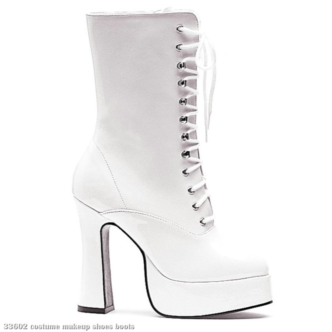 Dolly White Adult Boots