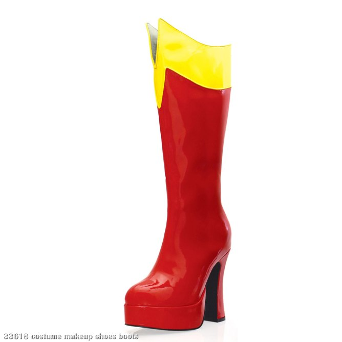 Cosmic (Red/Yellow) Adult Boots