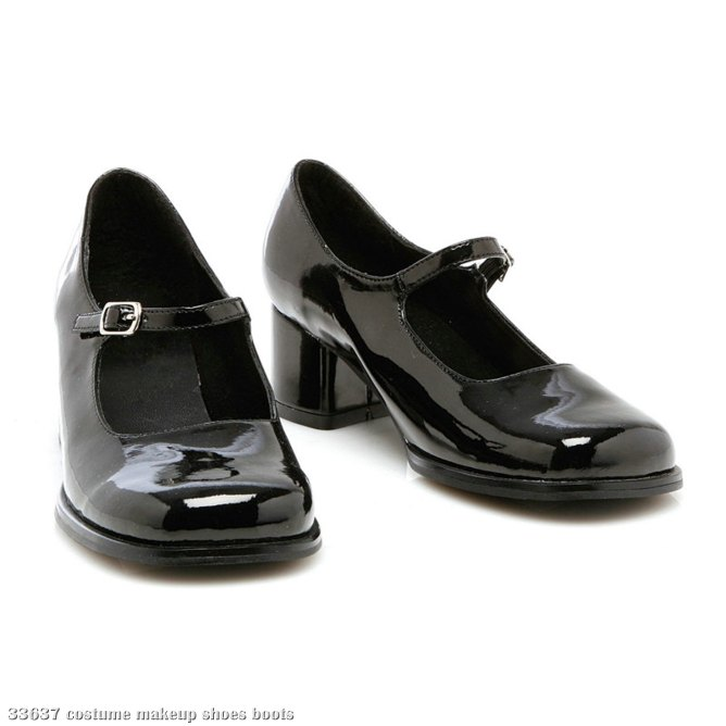 Eden (Black) Child Shoes