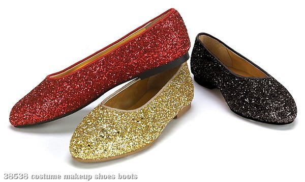 Red Sparkle Child Shoes