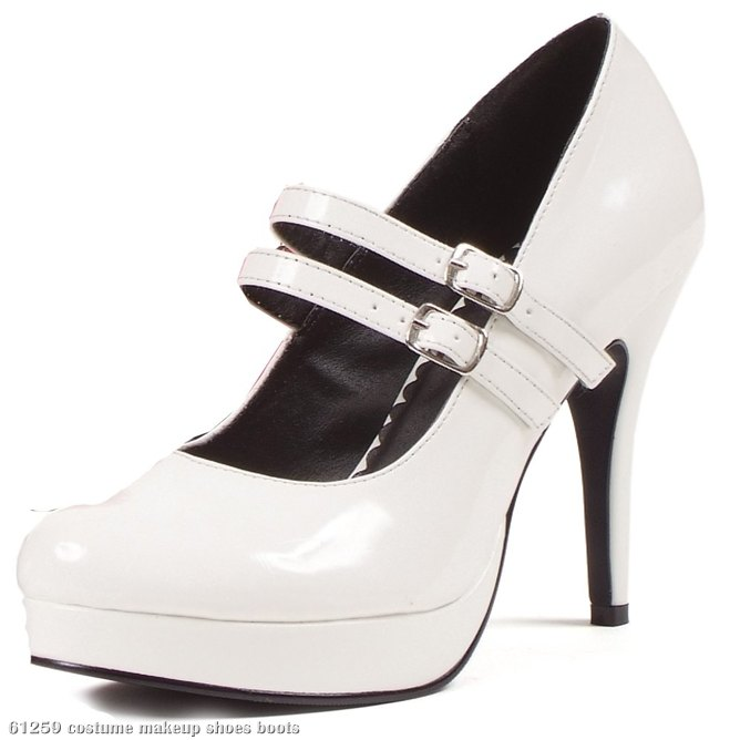 White Jane Adult Shoes