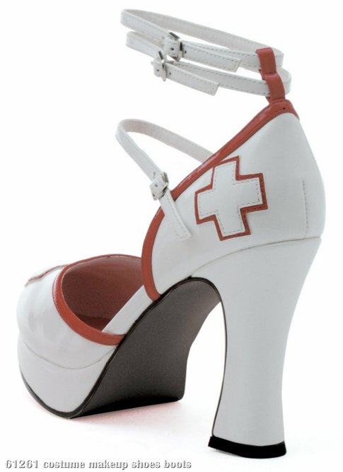 Medic (White/Red) Adult Shoes
