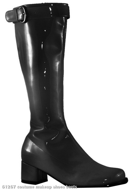 Hippie (Black) Adult Boots