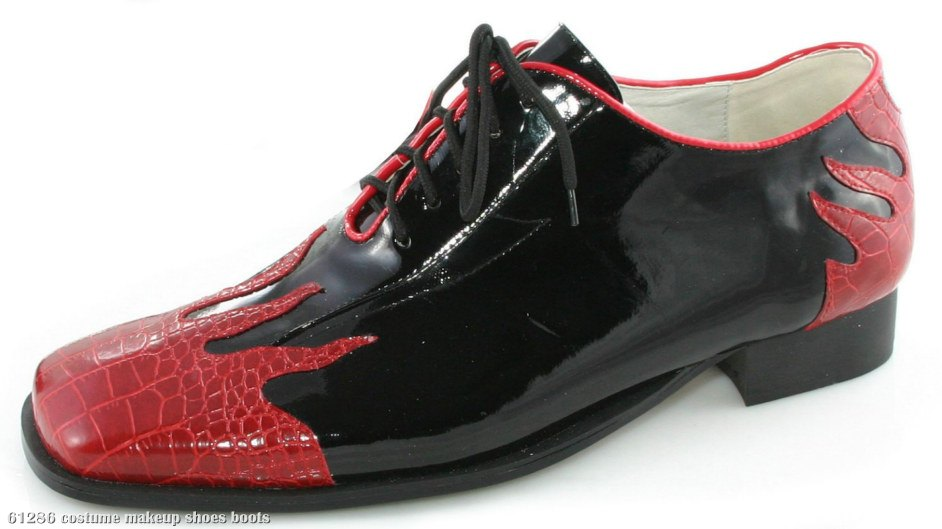 Flame (Black) Adult Shoes