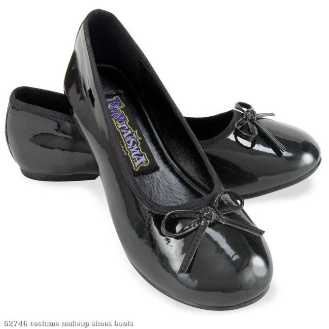 Ballet Flat (Black) Child Shoes