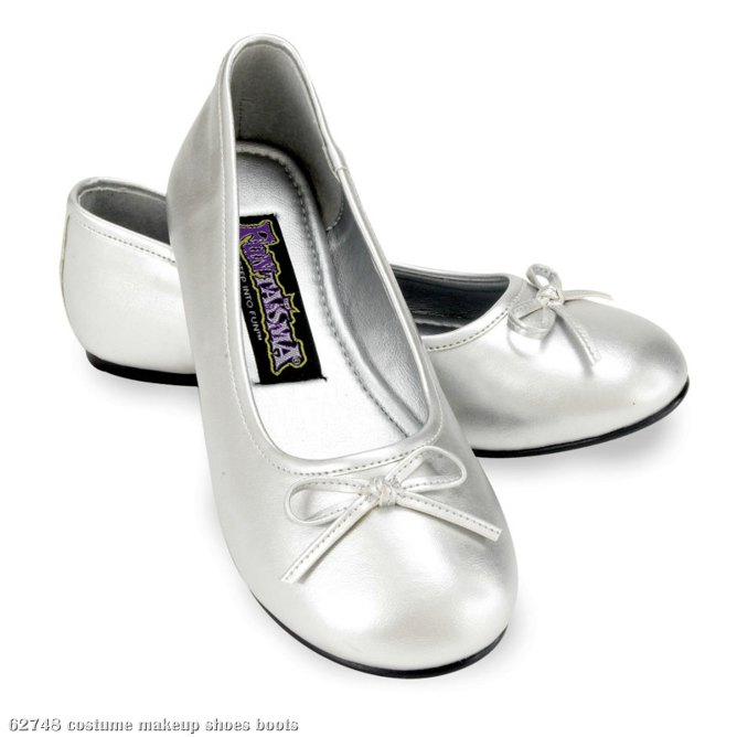 Ballet Flat (Silver) Child Shoes