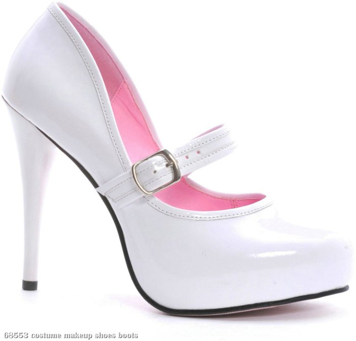 Lady Jane (White) Adult Shoes