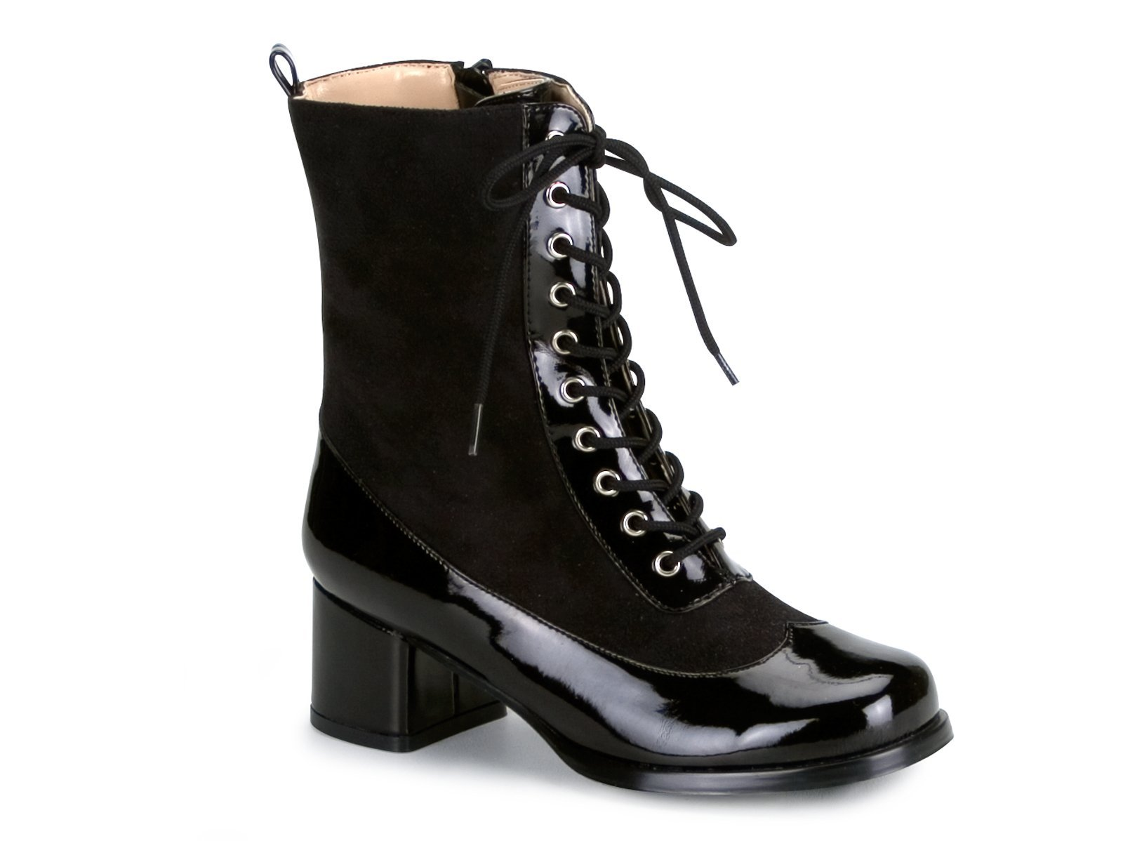 Lace-Up Black Boots Child
