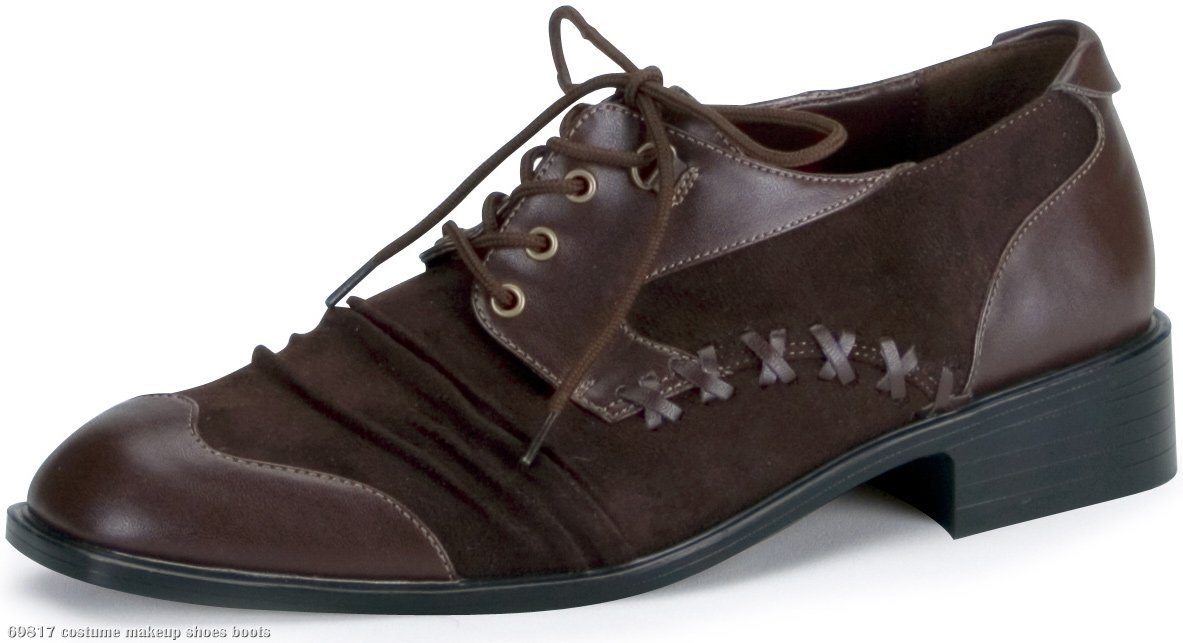 Mad Hatter Shoes Adult Brown