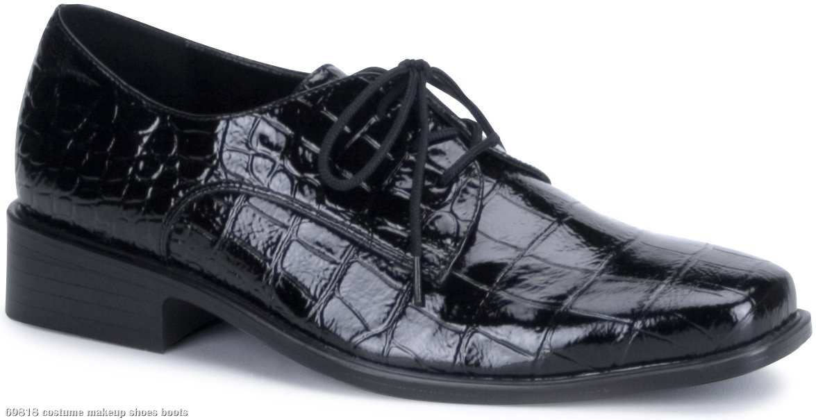 Alligator Shoes Adult Black