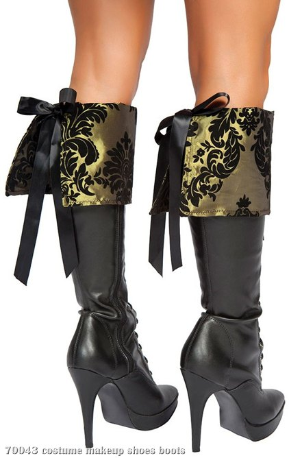 Tea Party Tease Adult Boot Cuffs