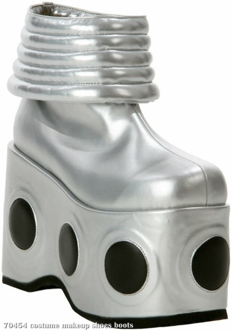 KISS - Spaceman Adult Boots