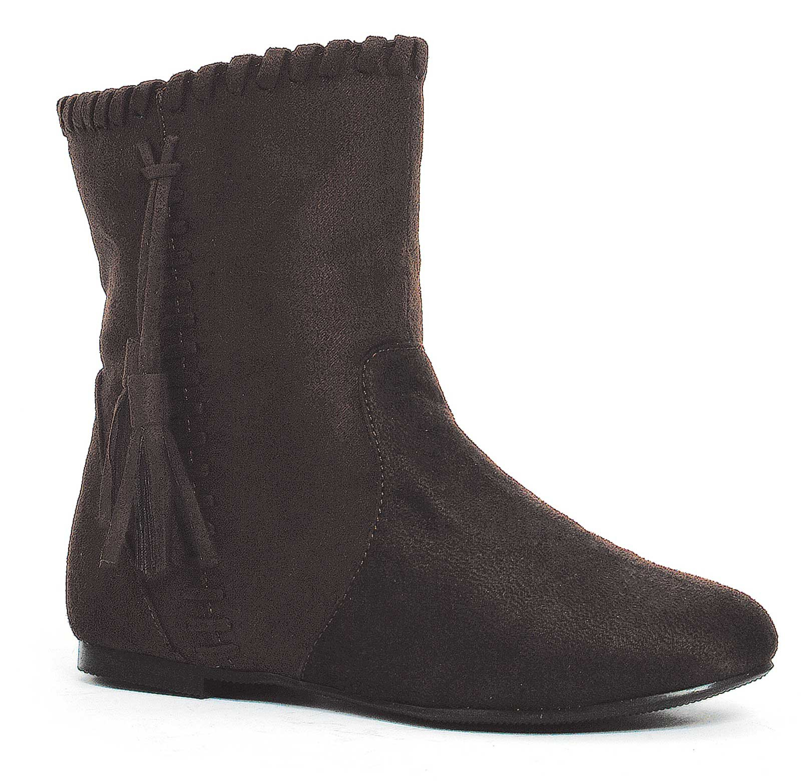 Brown Moccasin Child Boots