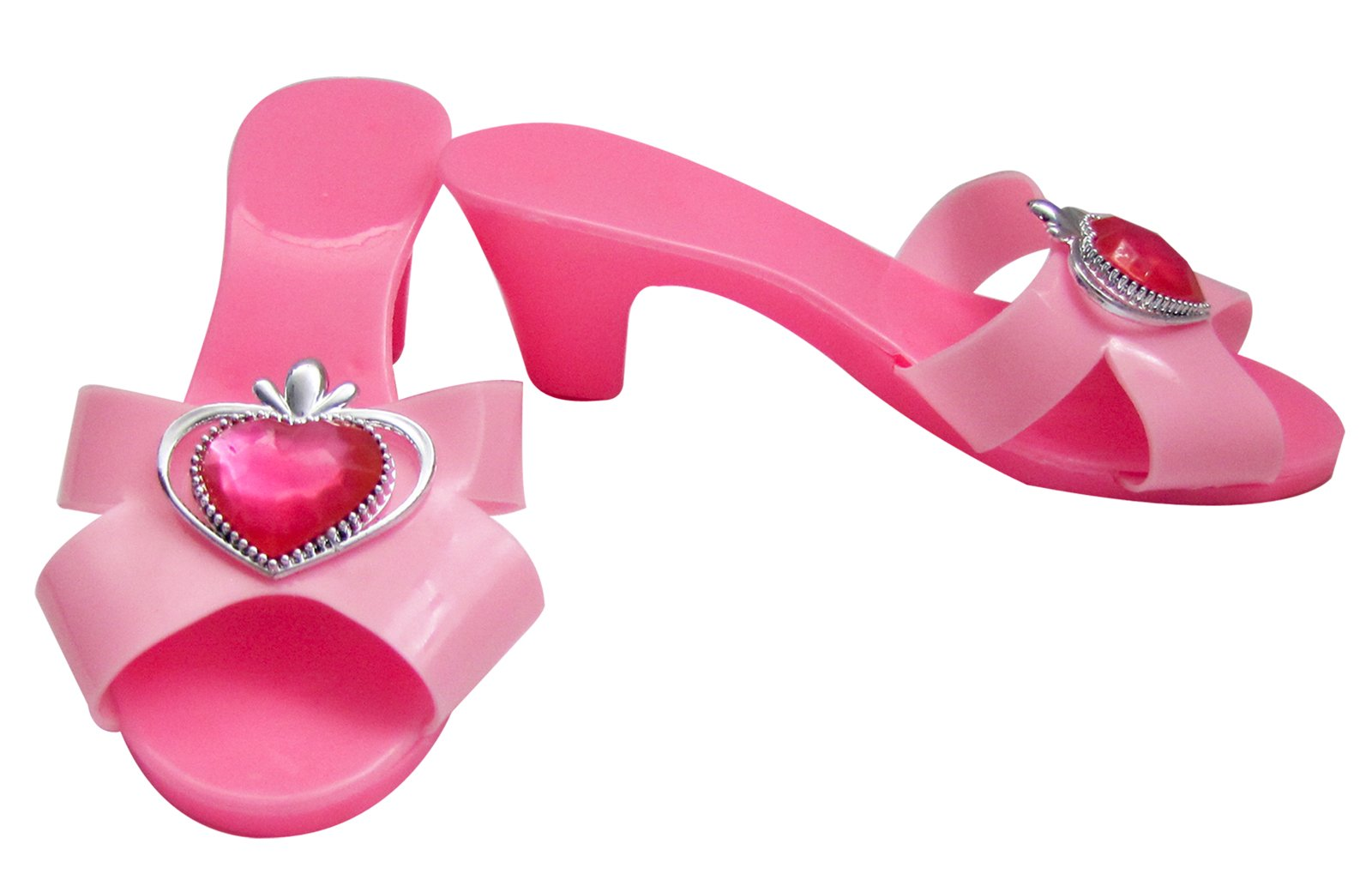 Pink Jewel Dress Up Shoes