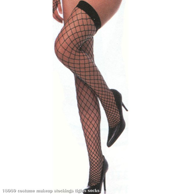 Thigh High Fence Net Stockings Adult