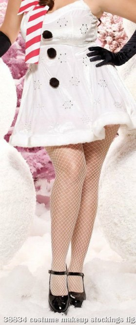 Fence Net Pantyhose Adult Plus