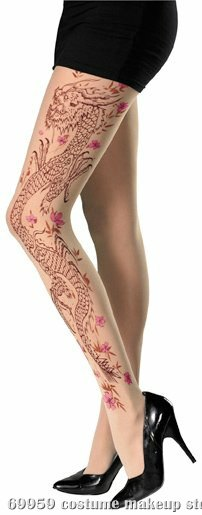 Dragon Full Adult Pantyhose