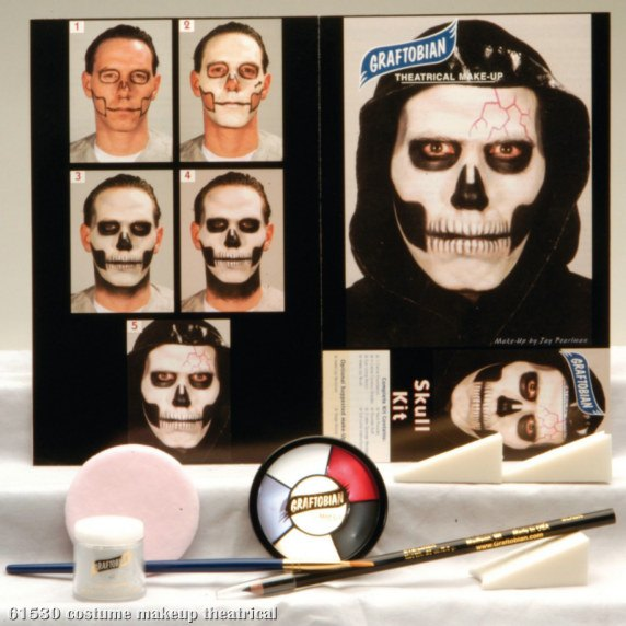 theatrical makeup kits. Skull Makeup Kit