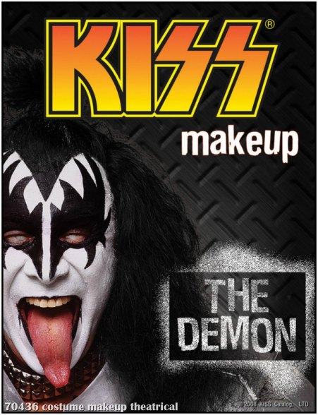 KISS - Demon Makeup Kit
