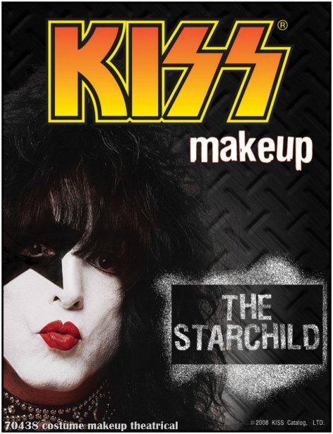 KISS - Starchild Makeup Kit