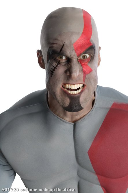 God Of War Kratos Makeup Kit Adult Theatrical Makeup Costume Acce In Stock About Costume Shop