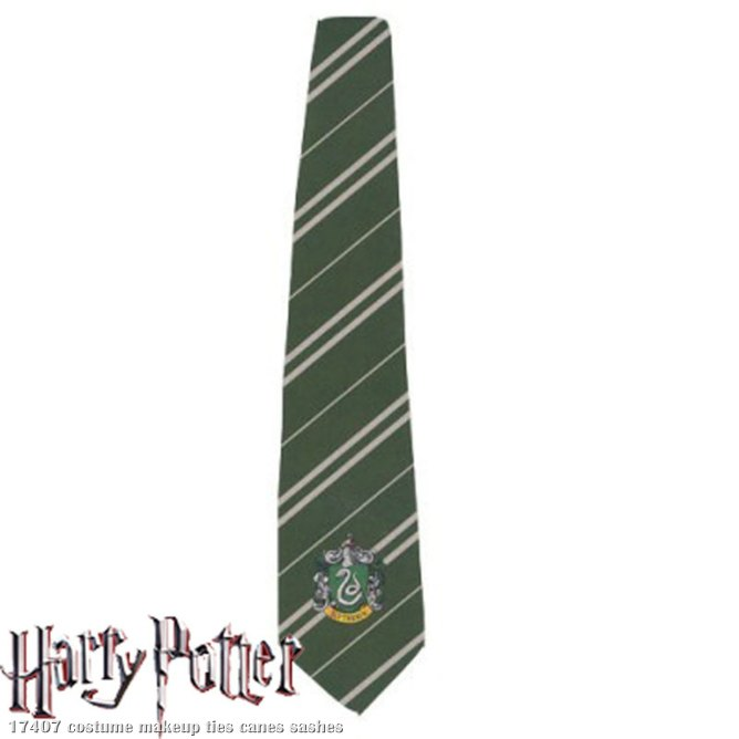Harry Potter Slytherin Deluxe Tie