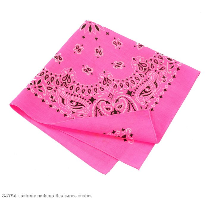 Pink Bandana - Click Image to Close