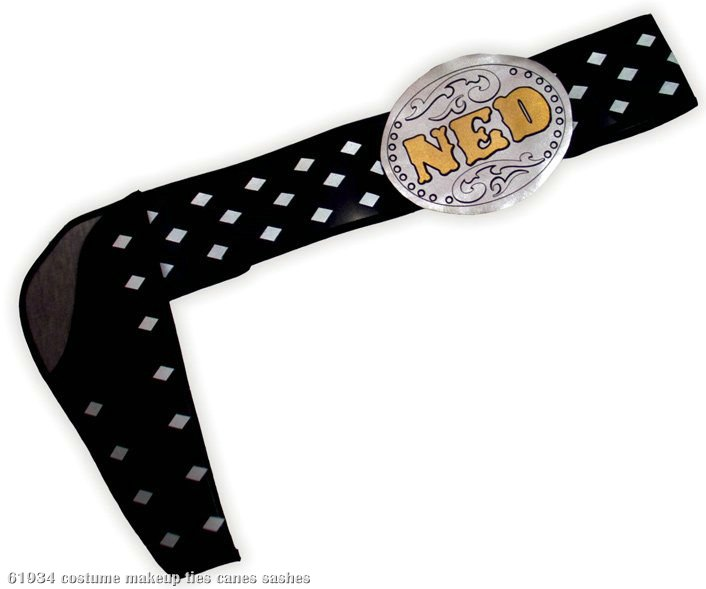 The Three Amigos Ned Nederlander Adult Belt