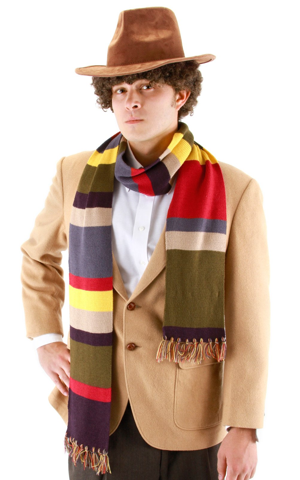 Doctor Who The Fourth Doctor Scarf Adult