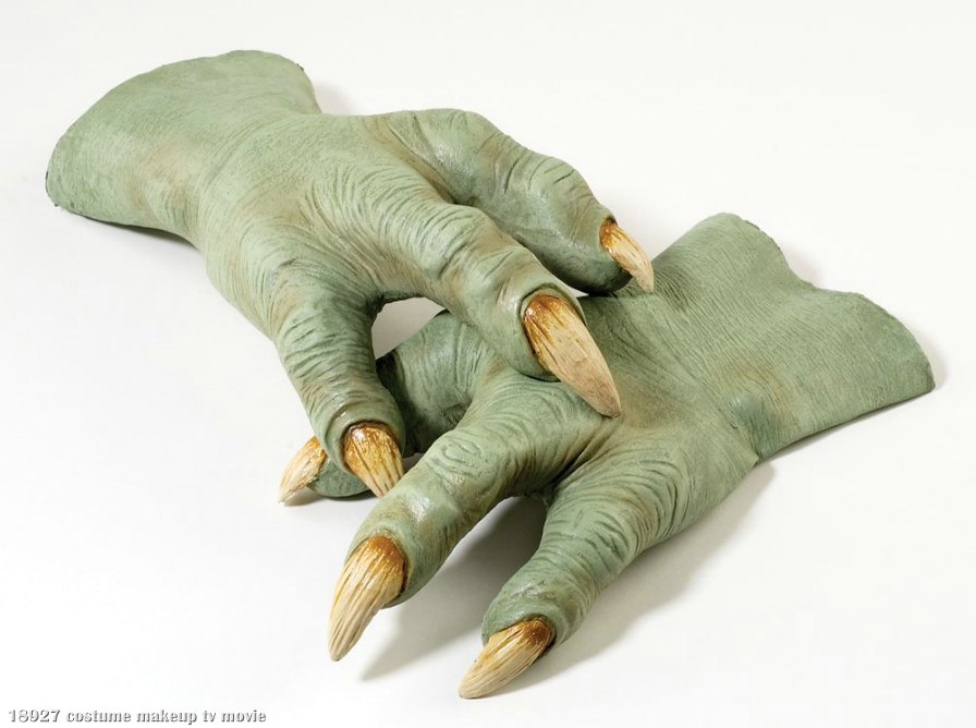 Star Wars Yoda Latex Hands