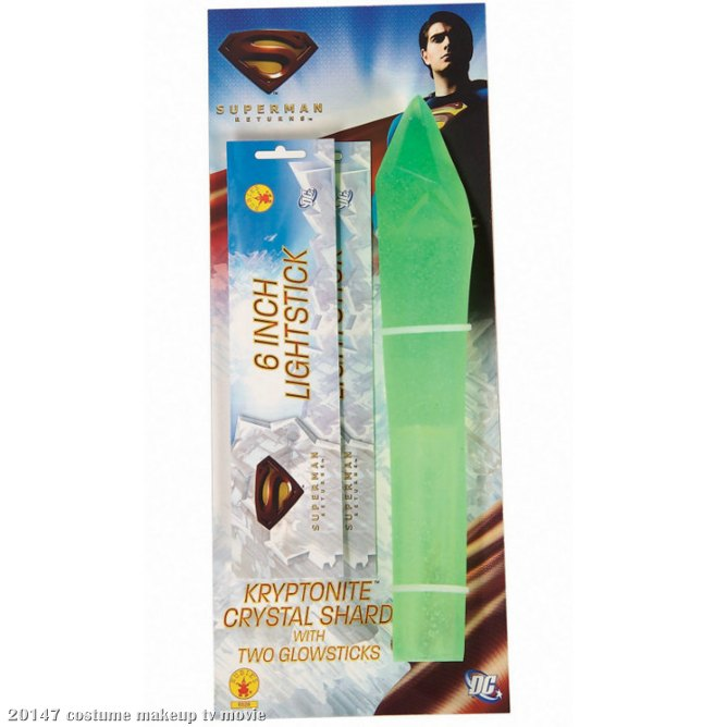 Superman Kryptonite Crystal Shard