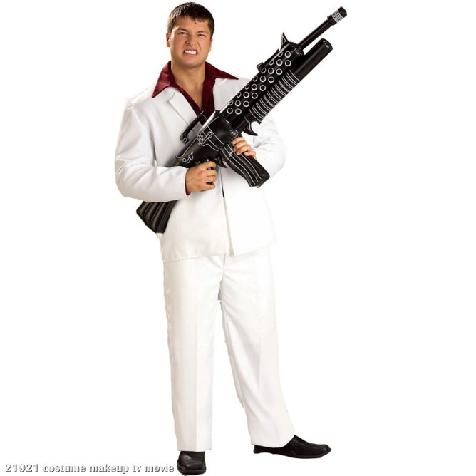 Tony Montana Inflatable Machine Gun