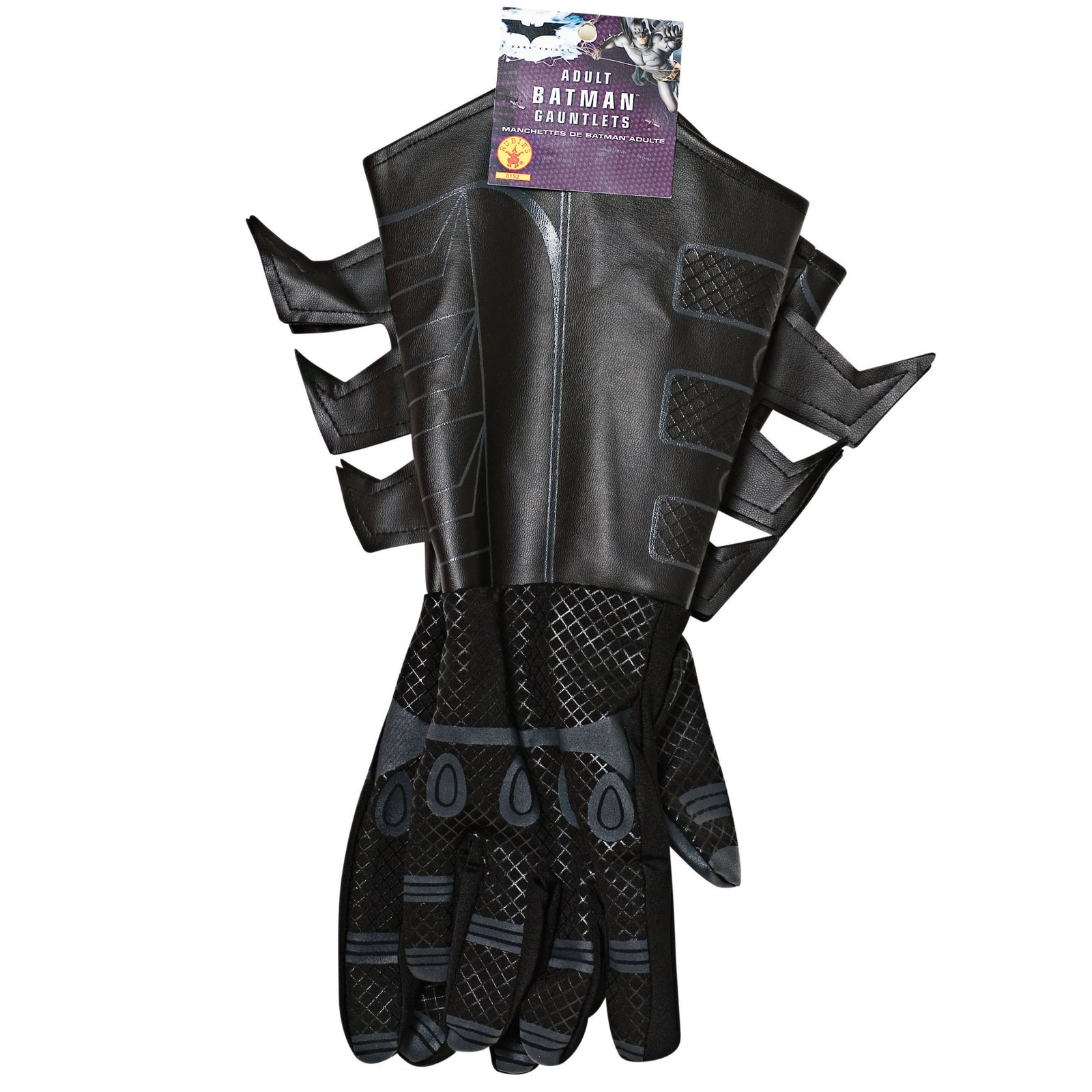 Batman Dark Knight Adult Batman Gauntlets