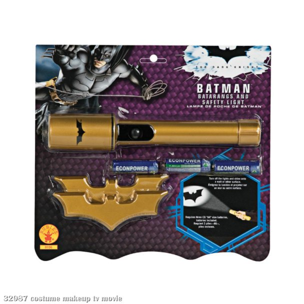 Batman Batarangs and Safety Light