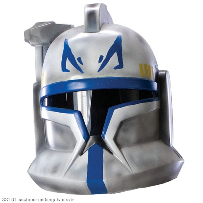 Star Wars Clone Wars Clone Trooper Leader Rex 2 piece Helmet