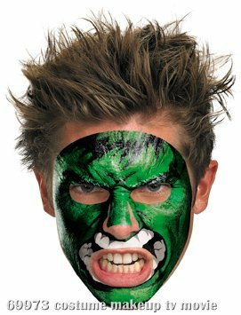 Hulk Face Tattoo