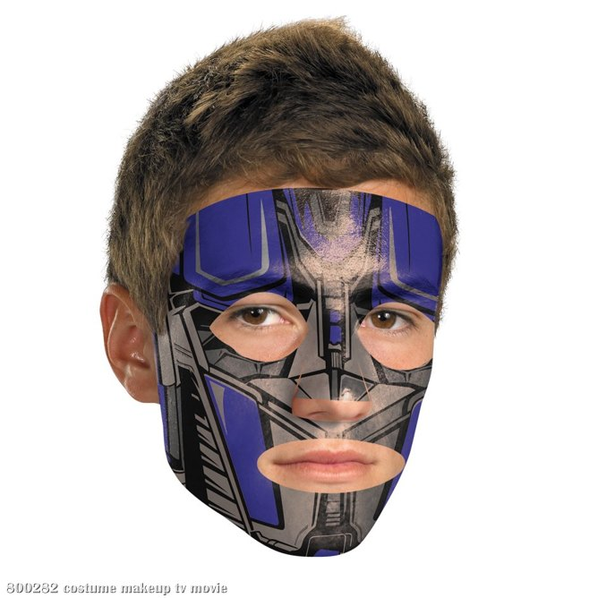Transformers 3 Dark Of The Moon Movie - Optimus Face Tattoo