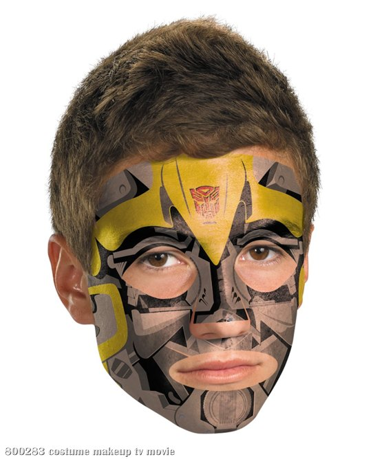 Transformers 3 Dark Of The Moon Movie - Bumblebee Face Tattoo