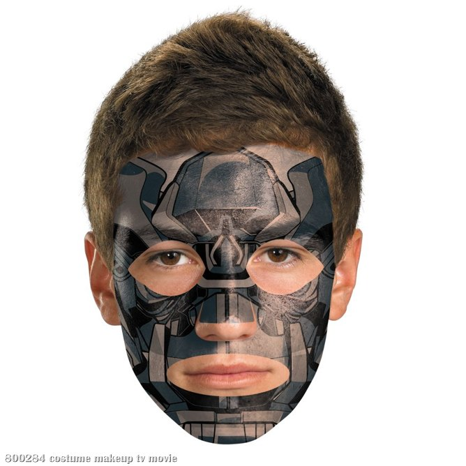 Transformers 3 Dark Of The Moon Movie - Iron Hide Face Tattoo