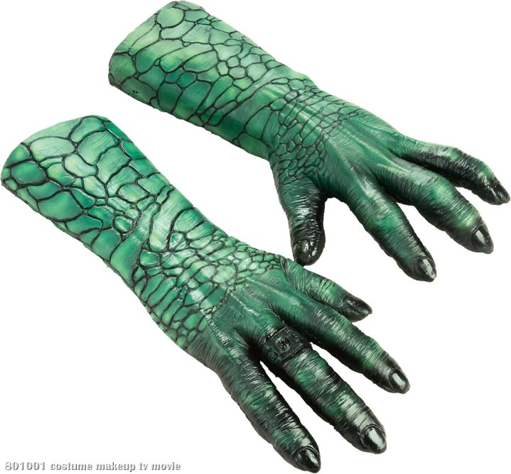 Green Lantern Movie - Deluxe Kilowog Hands (Adult)