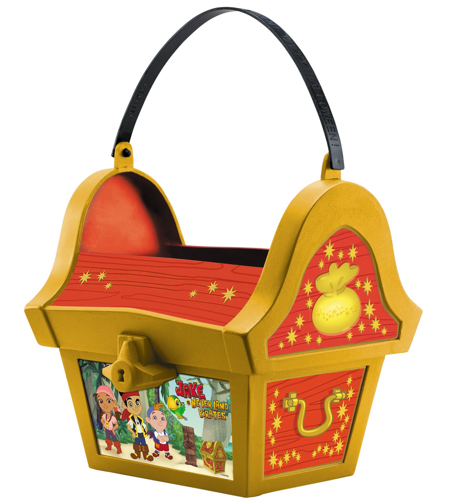 Disney Jake And The Never Land Pirates Folding Treat Pail