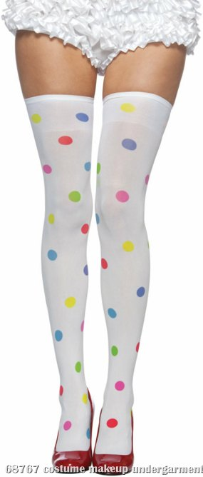 Dots Adult Thigh Highs