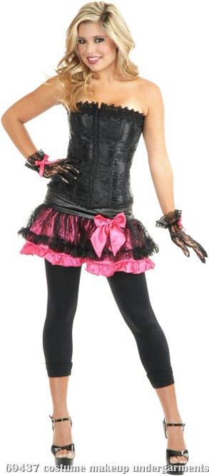 Satin and Lace Adult Pettiskirt