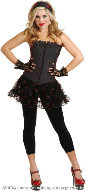 Lacy (Black) Adult Corset