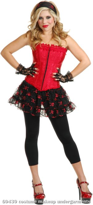 Lacy (Red) Adult Corset