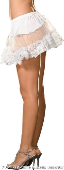Angel Petticoat (White) Adult Plus